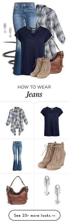 """""""Fall 2015 Jeans"""" by melissa-chung-pnklmnade on Polyvore featuring L'Oréal Paris, Aéropostale, H&M, Lucky Brand, Pieces, Wet Seal and Sydney Evan"""