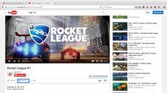 """Desde YouTube: buscamos el video que queremos y le damos al botón """" Compartir """""""