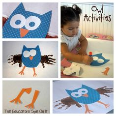 Activities for Little Hoot by Amy Krouse Rosenthal