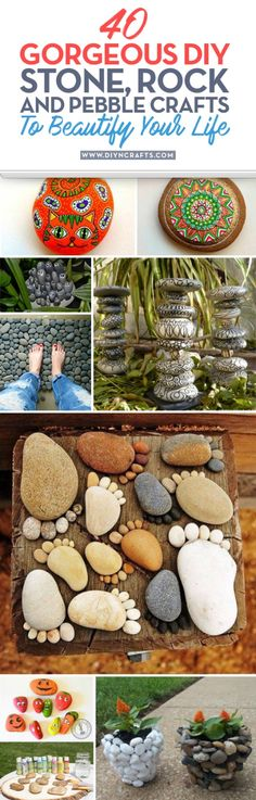 40+Gorgeous+DIY+Stone,+Rock,+and+Pebble+Crafts+To+Beautify+Your+Life+{With+tutorial+links}+via+@vanessacrafting