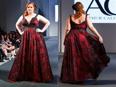 23 vestidos de festas para mulheres plus size