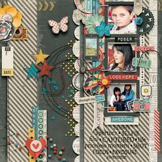 Captured {Page Kit} By Blagovesta Gosheva @ http://shop.scrapbookgraphics.com/Captured-Page-Kit.html Template by AkiZo Thanks for looking!