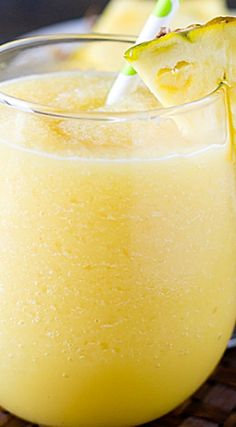 Pineapple Cream Tropical Smoothie