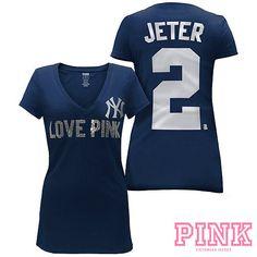 New York Yankees Victoria's Secret PINK® Player Tee - MLB.com Shop