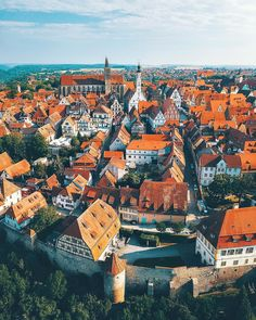 Magical rooftops of Rothenburg