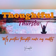 #ThoughtfulThursday Your thoughts affect your actions which affect your situation. How are you shaping your reality with your thoughts and intentions? Choose wisely and think positively! #jhoannarae #soulgeniussynergist #yoursoulsynergy