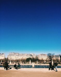 "And finally the Paris Gods said, ""give them sun. They've had enough rain.""☀️☀️☀️"