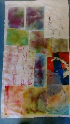 Final exam piece 20 Textile Art, Textiles, Board, Artist, Painting, Artists, Painting Art, Paintings, Fabrics