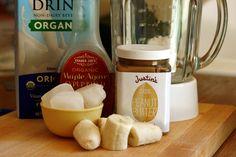 Peanut Butter Smoothie - Well Vegan #vegan #peanut #smoothie