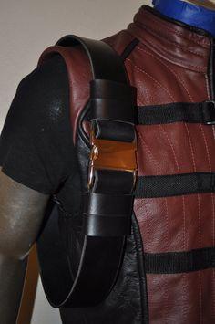 "Farscape Crichton leather belt. 2"" w/ Metal buckle"