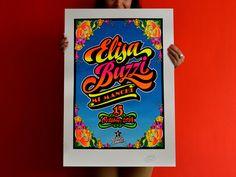 Elliot Tupac Chicha art #Street_art #ChichaArt #StreetArt #ElliotTupac #lettering #Peru