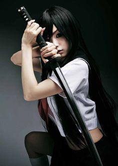 "cosplay-soul: "" Sin Izumi's Original Character """