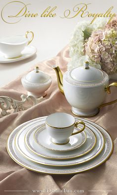 dine like royalty with prouna's luxury fine bone china, beautiful and  exquisite enough to be displayed in a museum, but functional enough for  your table