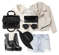 """""""Untitled #9075"""" by katgorostiza ❤ liked on Polyvore featuring mode, Topshop, Diesel, Givenchy, Christian Dior, Michael Kors, women's clothing, women, female en woman"""