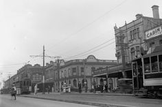 Edinburgh Castle Hotel, Symonds Street, Auckland, 1928