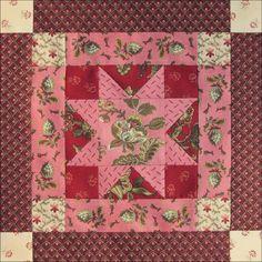 Civil War Quilts: Threads of Memory 6: Salem Star for Charlotte Forten Grimké