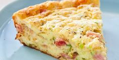 Impossible Ham-and-Cheese Pie - America's Test Kitchen