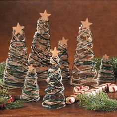 Tabletop String Trees ~ complete with instructions