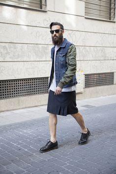 Streetstyle menswear fashion ©Juan Carlos Martínez. TENMAG Magazine