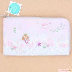 cute mermaid fish card holder case wallet from Japan Cute Fairy, Cute Wallets, Cute Mermaid, Modes4u, Cute Stationery, Kawaii Shop, Card Wallet, Card Case, Cute Designs