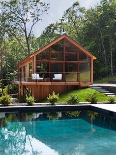 casa com design moderno e sustentável