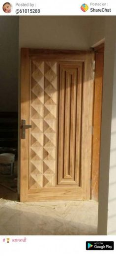34 Ideas For Wood Texture Art Patterns Wooden Front Door Design, Wooden Front Doors, Wood Doors, Entry Doors, Modern Wooden Doors, Modern Door, Room Door Design, Door Design Interior, Door Design Photos