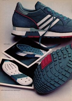 This is an original print advertisement from Product advertised: Adidas Helsinki Running Shoe. Sport Fashion, Mens Fashion, Meal Prep Companies, Cucumber Sandwiches, 6 Month Old Baby, Food Trucks Near Me, Make Ahead Lunches, Image Healthy Food, Sport Chic