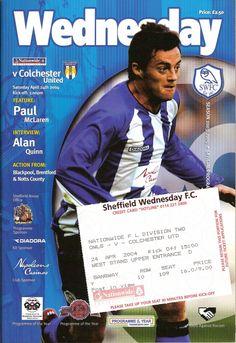 Hillsborough Stadium, Sheffield Wednesday Football, Brentford, World Football, Football Program, Blackpool, Programming, English