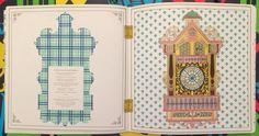 The Time Garden Coloring Book Daria Song #TheTimeGarden #dariasong Daddy's Cuckoo Clock