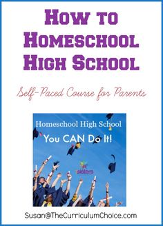 Is homeschooling high school in your future? Homeschool high school self paced course helps with an overall vision - 15 lessons and video.