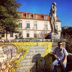 Spring sunshine  in #Oeiras at the Palacio Marquês de Pombal. #architecture #history #garden // #Lisboa #Portugal