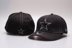 2e8c84d9ab7 NFL Dallas Cowboys Team Logo Fitted Hat Peaked Cap Baseball Hats Black