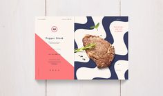 The client is a couple selling since 2010 Foreign High Class frozen Steak. They asked me to design them there new packaging. Page Layout Design, Web Design, Fish Design, Book Design, Food Branding, Food Packaging Design, Packaging Design Inspiration, Brand Packaging, Packaging Ideas