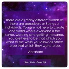 Being while you allow others to be