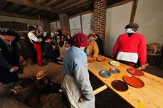 Living history and living art: the Kentwell Tableau of Bruegel's Peasant Wedding.