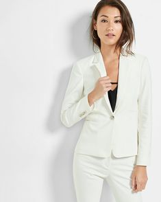 1ada1776b3b4 27 White Suits Perfect for a City Hall Wedding
