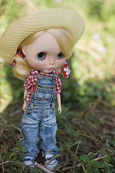 Farmer Girl Blythe Doll ♡
