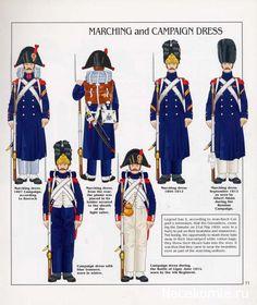 French; Imperial Guard, Grenadiers a Pied, Grenadies & Junior NCOs, Tenue de Route & de Campagne