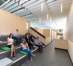 The Bridge by Threefold Architects   Office facilities