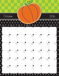 2016 Printable Calendar – Free Printable Calendar Handmade by                                                                                                                                                                                 More