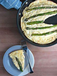 Ricotta Mozzarella Asparagus Frittata  http://www.refinery29.com/2014/05/67617/ricotta-mozarella-asparagus-frittata