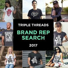 #Repost @triple_threads  Ok guys its a new year and we think its time to expand our team!  We are looking for compassionate men women and children that love our brand and want to help promote our products for 2017! We welcome vegans to enter together as a family  Looking For  Clear well styled high quality photos as well as getting social and proactively interacting on our Instagram account.  Creative style and a passion for fashion.  Reps will receive free product and discounts on any…