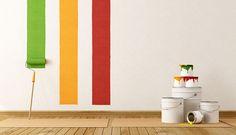 http://www.descontosideiasinovadoras.com/pintar/qual-cor-adequada-para-suas-paredes/ - Qual a cor adequada para as suas paredes? - Escolher a cor certa para pintar as paredes lá de casa não é uma tarefa fácil. O tom escolhido é determinante e influencia diretamente o ambiente do espaço. É, por isso, necessário que pense bem antes de fazer a sua escolha.
