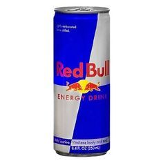 Red Bull Energy Drink - 8.4 Oz. Red Bull Drinks, Beautiful Dark Skinned Women, Energy Drinks, Menu, 3d, The Originals, Food Storage, Social Media Design, Menu Board Design