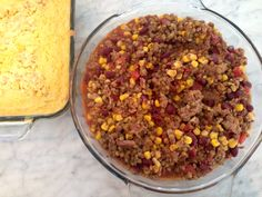 Chicken lentil chili with creamed corn bread - the mad platter kitchen