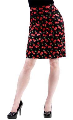 Sourpuss Sweetie Pie Retro Cute Shorts Raunchy Red High Waisted Rockabilly