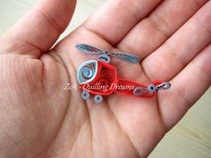 Mini Quilled Helicopter