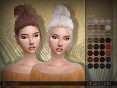 Sims 4 CC's - The Best: LeahLillith Clique Hair