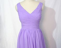 Hey, I found this really awesome Etsy listing at https://www.etsy.com/listing/208817770/lavender-short-bridesmaid-dress-v-neck