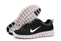 Damen Nike Free 6.0 Schuhe - schwarz